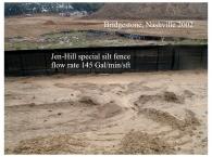Bridgestone special silt fence 2002